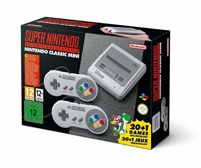 Super Nintendo Entertainment System Nintendo classic Mini Konsole 21 Spiele Neu