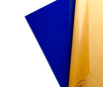 18 3mm Navy Blue Acrylic Plexiglass Sheet 12 X 12 Cast Acrylic Azm