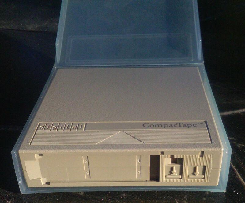 DEC 3M CompacTape TK50-K 95MB TAPE MEDIA CARTRIDGE FOR TK50 AND TZ30 DRIVES