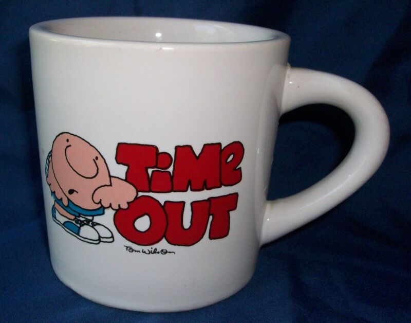 Coffee Mug Ziggy Time Out Tom Wilson Designer's Collection Ceramic Cocoa Cup