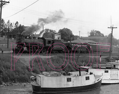 Canadian Pacific Railways (CP) Engine 1095 at Port Burwell - 8x10 Photo