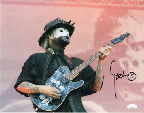 John 5 Autograph Signed 11x14 Photo - Rob Zombie Guitarist (JSA COA)