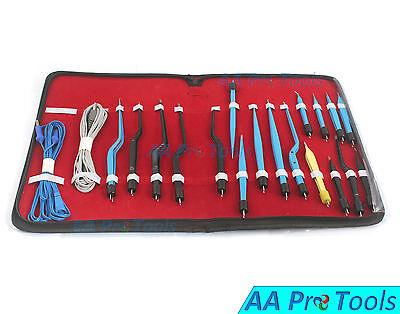 Aa Pro High Class Bipolar Bayonet Forceps Electrosurgical Instruments Set