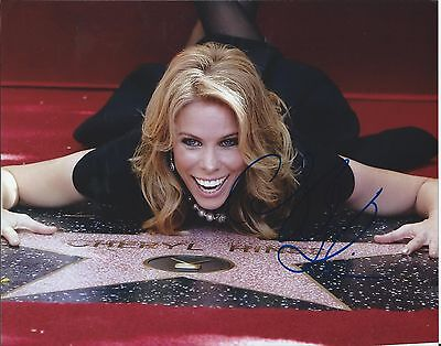 Cheryl Hines Curb Your Enthusiasm Walk Of Fame Hand Signed 8X10 Photo W Coa
