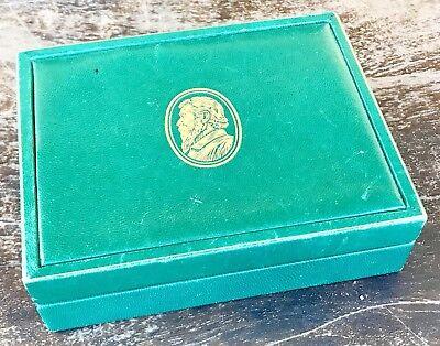 ROLEX CELLINI Vintage Watch Box Danaos Dual Time King Queen Midas Cestello OEM
