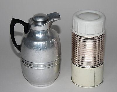 Alte Thermosflasche Thermoskanne Thermos - . - (253)