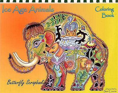 e Animal Spirits 15 Pages EARTH ART Sue Coccia New (Aquarell Coloring Book)
