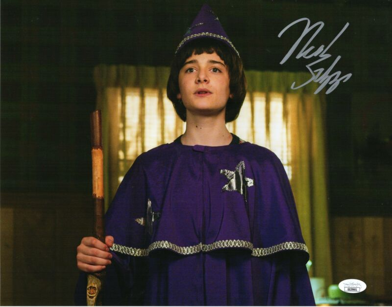 Noah Schnapp Autograph 11x14 Photo Stranger Things Will Signed JSA COA 2