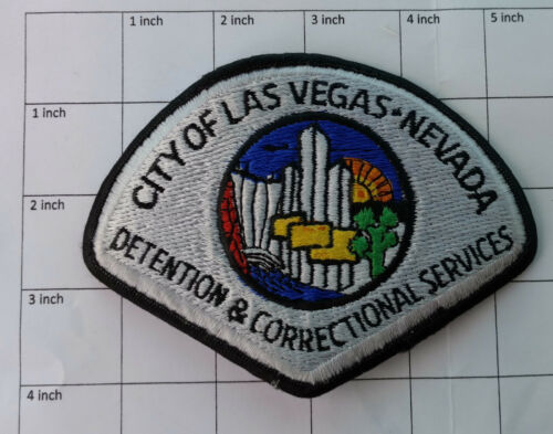 City of Las Vegas Nevada - Detention & Correctional Services (Nevada) patch