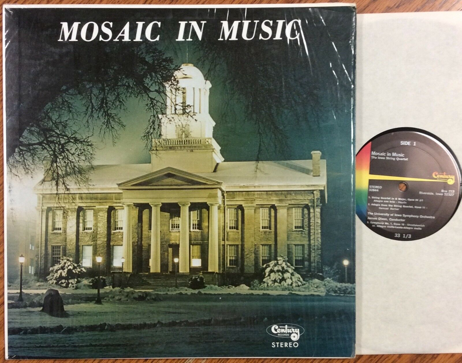Mosaic In Music, Iowa String Quartet, University Of Iowa Jazz Lab Ensemble - $14.99