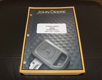 John Deere 350dlc Excavator Service Operation Test Manual Tm2359