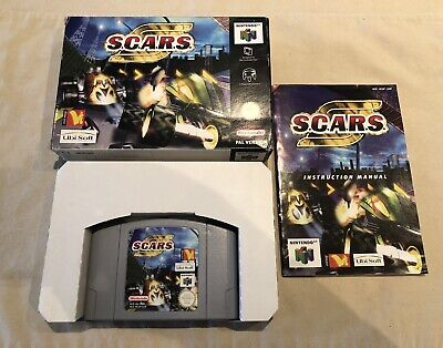 SCARS (S.C.A.R.S.) * N64 * guter Zustand / good condition * OVP / CIB