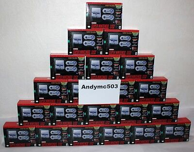 SNES Classic Mini Print run - Super Nintendo Entertainment System - Fast Shipping!