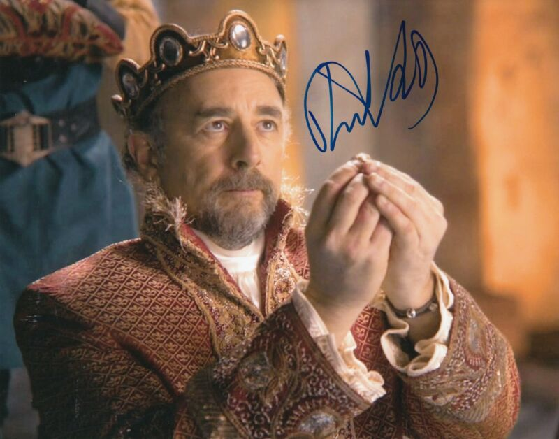 RICHARD SCHIFF signed (ONCE UPON A TIME) 8X10 W/COA *King Leopold*