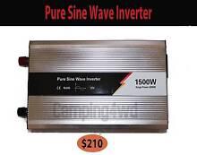 Pure Sine Inverter 1500-3000w caravan camping power battery conve Craigie Joondalup Area Preview