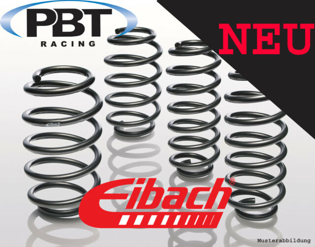 Eibach Springs Pro-Kit VW Bora (1j2) 1.9, 2.3 built 98 - 05 e10-85-001-16-22
