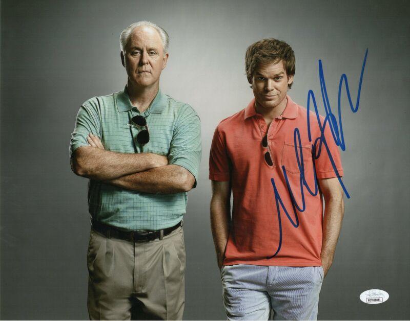 Michael C. Hall Autograph 11x14 Photo Dexter Signed JSA COA D9