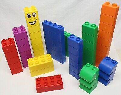 Lego Duplo Quatro 5357(?) 60 Large-Sized Bricks - Bigger than Duplo Compatible