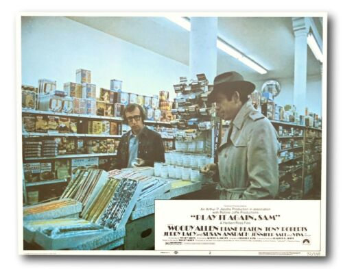 """Play It Again Sam"" Original 11x14 Authentic Lobby Card 1972 Poster # 2  Allen"