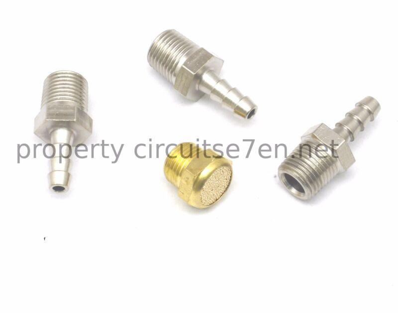 MAC Boost Solenoid  BCS valve fittings / barb /tail /nipple