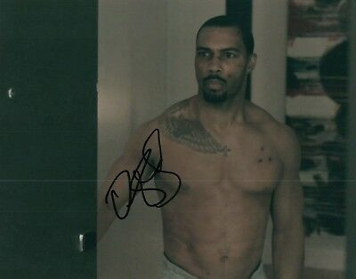 Omari Hardwick Shirtless Showing Ab's Actor Signed 8x10 Autographed Photo COA