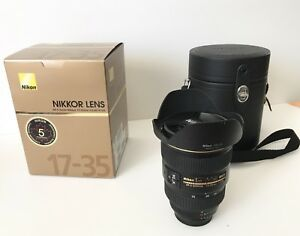 Nikon AF-S Zoom Lens, 17-35mm f/2.8D IF-ED