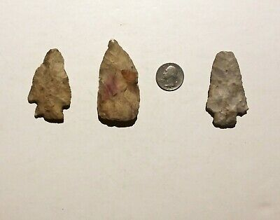 Native American Artifact Points (3)