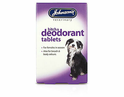 Johnsons Bitch And Deodorant Tablets For Dogs (40 Tab)