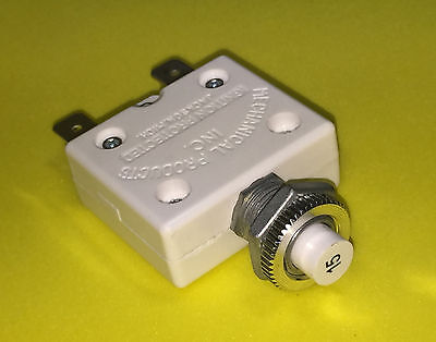 15 Amp Generator Circuit Breaker - Replaces Devilbiss Gs-0024 Or Z-gs-0024