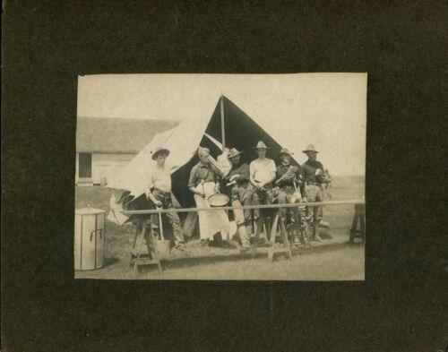 """/US Army Photo,ww1 Army field kitchen, 6 1/2"""" x 4 1/2"""""""