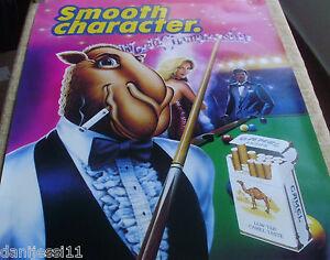 Cartoon-image-of-Joe-Camel-SPECIAL-UNFOLDED-POSTER-CAMEL-CIGARETTES-1990