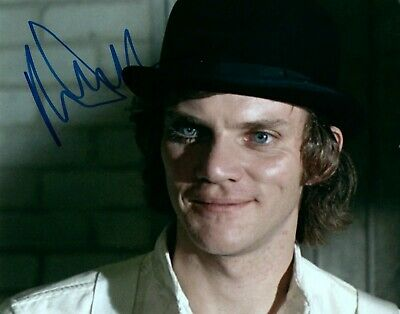 Malcolm Mcdowell A Clockwork Orange Actor Signed 8x10 Autographed Photo COA 2 Malcolm Mcdowell Actor