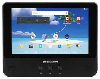 Sylvania 3-in-1 9-Inch 1.2GHz Quad Core 8GB Android Tablet/Portable DVD Player (Dvd Player Tablet)