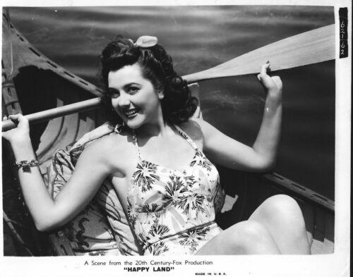 "ORIGINAL PUBLICITY PHOTO FOR THE ""1943 MOVIE ""HAPPY LAND"""