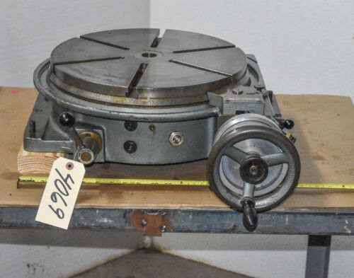 "16"" Rotary Table; Imperial; West Germany (CTAM #4069)"