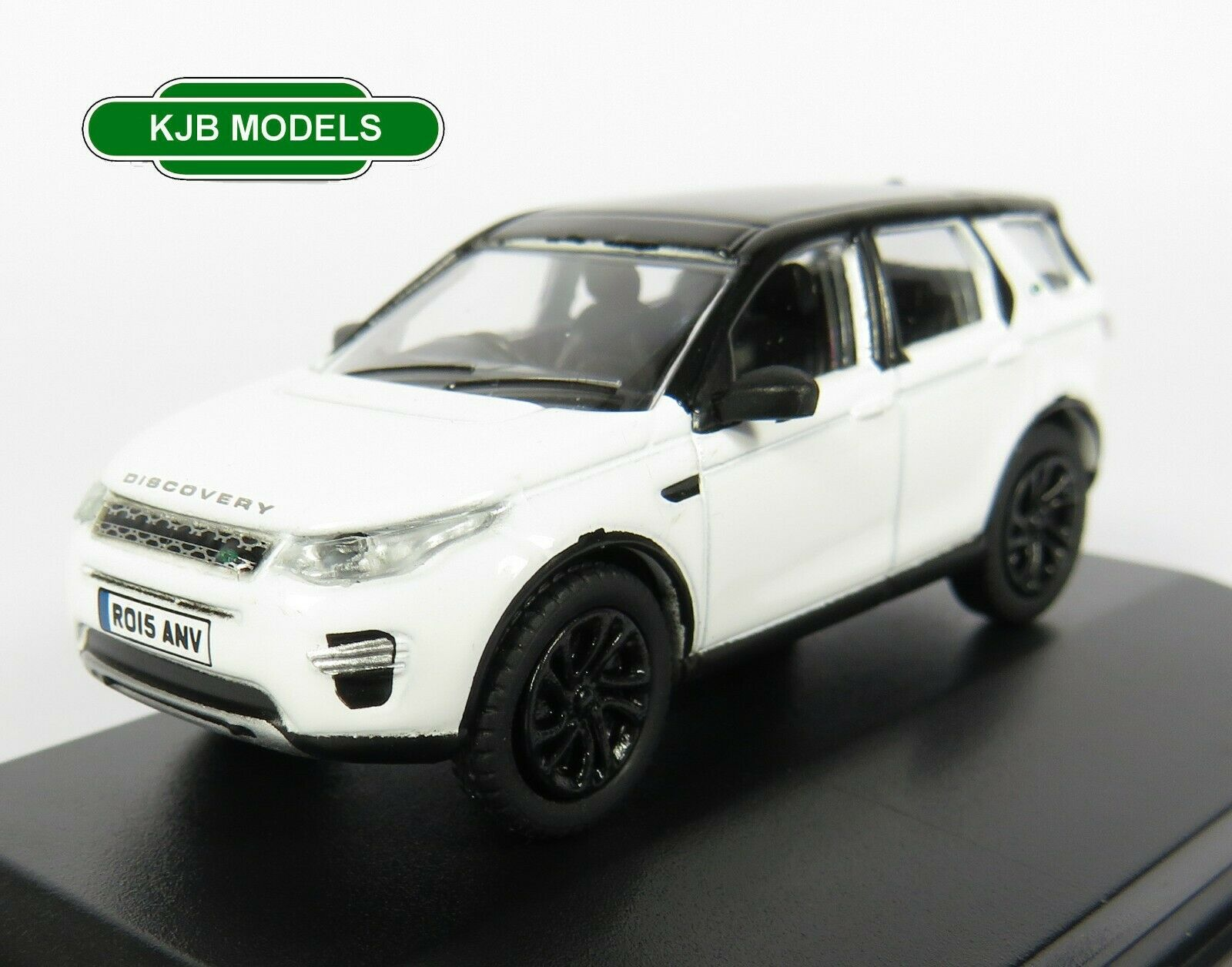 BNIB OO GAUGE OXFORD 1:76 76LRDS003 Land Rover Discovery Sport Fuji White