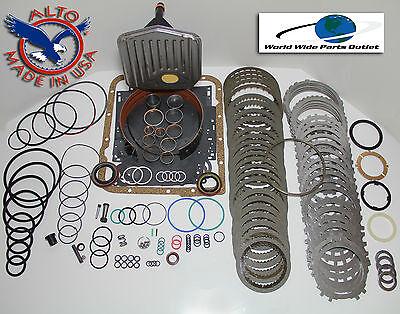 Rebuilding Pack - TH700R4 Rebuild Kit Heavy Duty HEG Master Kit Stage 4 w/3-4 Power Pack 1987-1993