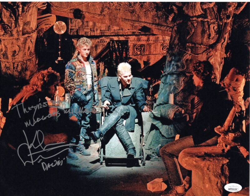 KIEFER SUTHERLAND signed 11x14 Photo THE LOST BOYS They're Only Maggots JSA
