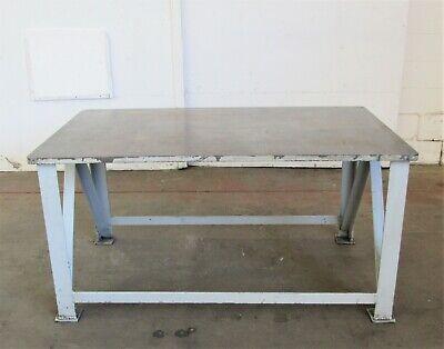 36 X 60 Steel Weldingwork Table Id W-029