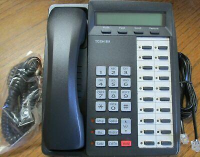 Toshiba Dkt3020-sd Phone Dkt 3020 Charcoal Black Renewed Tested Warranty