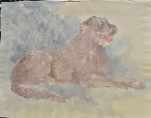 Marcia Van Woert Irish Wolfhound Painting