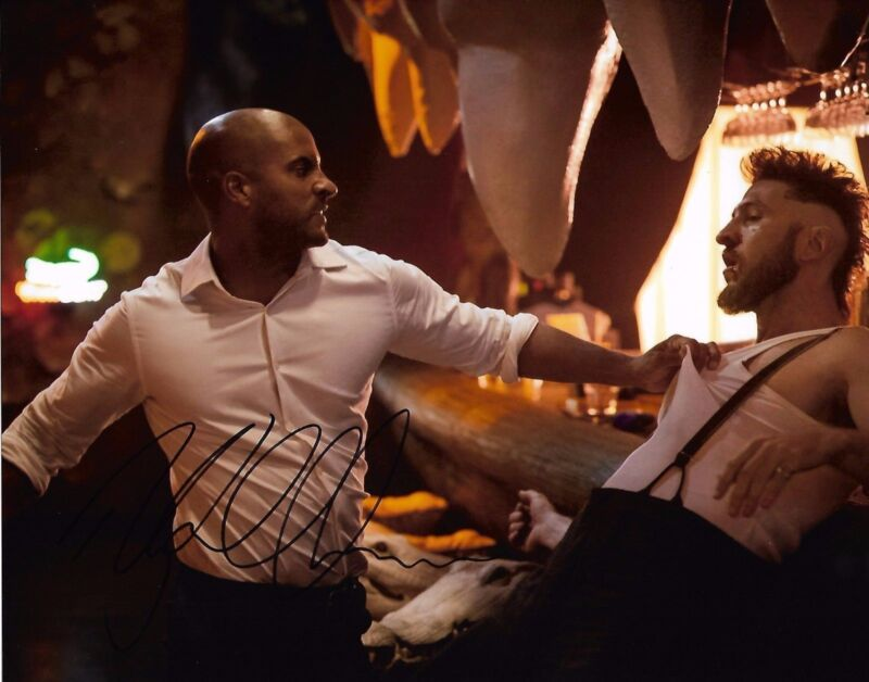 Ricky Whittle American Gods Autographed Signed 8x10 Photo COA #A3