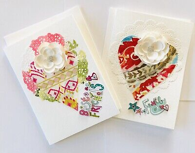 Greeting Cards, 2 Cards, Birthday Cards,Thank you Cards, Best Friend &