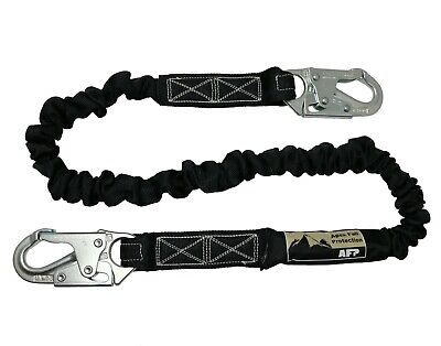Afp New Fall Protection Safety Lanyard 6 Internal Shock-absorbing W Snap Hook