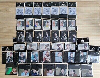 The ULTIMATE BTS T-money Card Set // RM Jin Suga J-hope Jimin V Jimin Jungkook