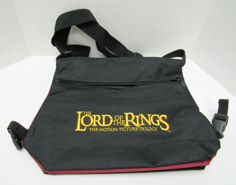 The Lord Of The Rings Motion Picture Trilogy Saddlebags Book Messenger Bag Tote