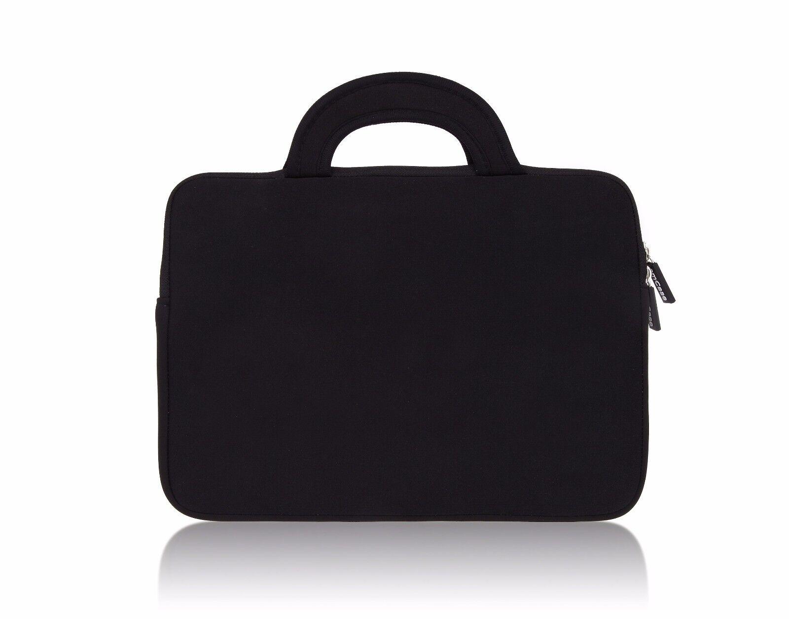 "как выглядит Сумка или чехол для ноутбука Chromebook Case (11.6""-12"") amCase Protective Neoprene Laptop Sleeve/Bag (Black) фото"