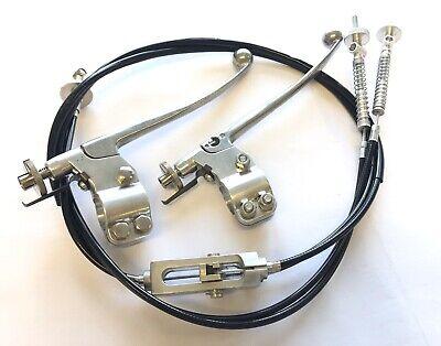 Yamaha TZ 250/350 splitter, cables and lever assemblies TZ250 TZ350