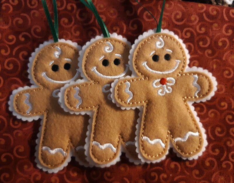 Handmade Gingerbread Ornament