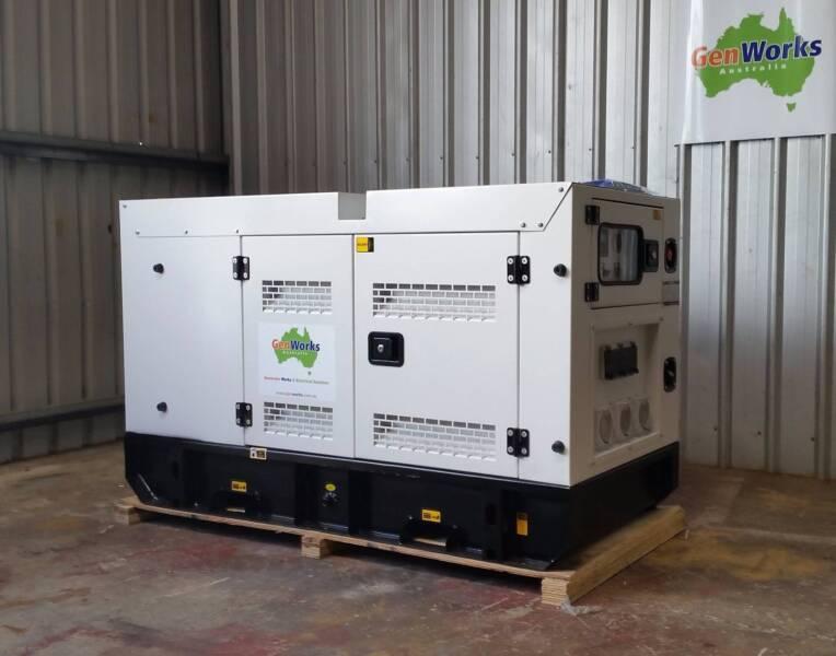 New Diesel Generator 8kVA 240V single phase in Canopy